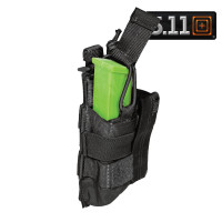 PORTE CHARGEUR 5.11 DOUBLE PISTOL BUNGEE