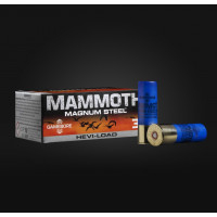 CARTOUCHES GAMEBORE MAMMOTH STEEL CAL 12 36 G BJ PB 5 PAR 10