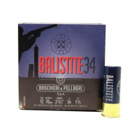 CARTOUCHES B&P BALISTITE CALIBRE 12 - 34 G - BJ - PB 8