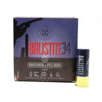 CARTOUCHES B&P BALISTITE CALIBRE 12 - 34 G - BJ - PB 5