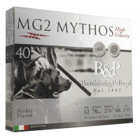 CARTOUCHES B&P MG2 MYTHOS HV CALIBRE 12 - 40 G - BJ - PB 7