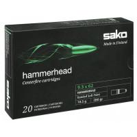 BALLES SAKO HAMMERHEAD CALIBRE 9.3X62 286 GR SP WILD BOAR