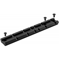 RAIL LONG RECKNAGEL PICATINNY POUR CARABINE VERNEY CARRON LA
