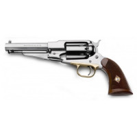 REVOLVER PIETTA 1858 REMINGTON INOX SHERIFF CAL.44 CROSSE QUADRILLÉE