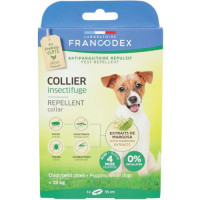 FRANCODEX COLLIER INSECTIFUGE POUR CHIOTS PETITS CHIENS X1