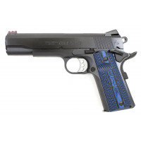 PISTOLET COLT GOVERNMENT COMPETITION BLEU CALIBRE 9X19