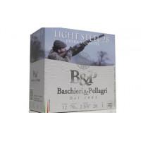 CARTOUCHES B&P LIGHT STEEL HV CALIBRE 12 - 28 G - BJ - PB 8.5