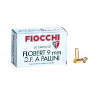CARTOUCHES FIOCCHI PALLINI CALIBRE 9 MM FLOBERT - 2.2 G - PB 6