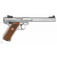 PISTOLET RUGER MARK IV .22LR 6.88P 10CPS INOX COMPETITION