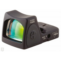VISEUR TRIJICON RMR RM07 MINIATURE REFLEX REGLABLE LED 6.50 MOA POINT ROUGE FDE
