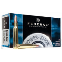 CARTOUCHES FEDERAL 223REM 55GR PS-SP POWER-SHOK PAR 20