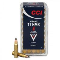 CARTOUCHES CCI 17HMR 17GR V-MAX PAR 50