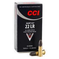 CARTOUCHES CCI 22LR 40GR LRN PQUIET PAR 50