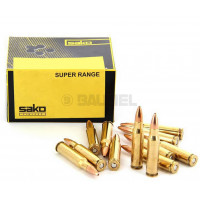 CARTOUCHES SAKO 308WIN SUPER RANGE HP 6.6G 102GR BTE 50 PAR 50