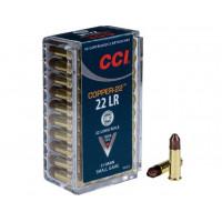 CARTOUCHES CCI 22LR COPPER 21 GR CHP PAR 50
