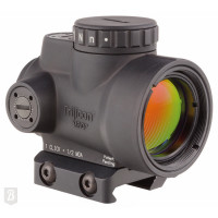 VISEUR TRIJICON MRO 1X25 2.0 MOA RED 1/3 CO-WITNESS MOUNT