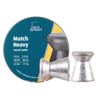 PLOMBS H&N MATCH CARABINE/HEAVY CAL.4.50 X500