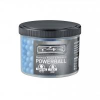 BILLES POWERBALLS CAOUTCHOUC T4E BLEU 1.3 G CAL 43 X430