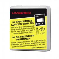 CARTOUCHES 8 MM PA GAZ CS UMAREX X10