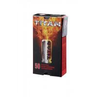 CARTOUCHES 9 MM PAK A BLANC TITAN PERFECTA X50