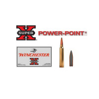 20 CARTOUCHES 9.3X74R WINCHESTER SUPER X POWER POINT 286G