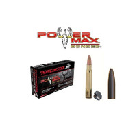 20 CARTOUCHES 7MM WSM WINCHESTER POWER MAX BONDED 150G