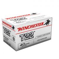 50 CARTOUCHES WINCHESTER 22LR T22 LRN 40G