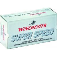 50 CARTOUCHES WINCHESTER 22LR SUPER SPEED 40G CP LRN