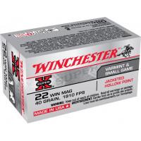 150 CARTOUCHES WINCHESTER 22WM SUPER X FMJ 40G