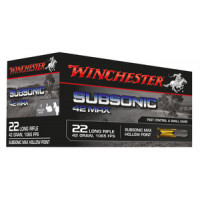 50 CARTOUCHES WINCHESTER 22LR SUBSONIC 42GR HP