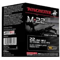 400 CARTOUCHES WINCHESTER 22LR M22 BLACK CPRN 40G