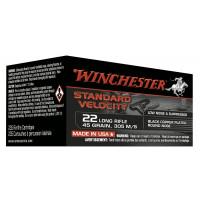 235 CARTOUCHES WINCHESTER 22LR STD VELOCITY BLACK CPRN 45G