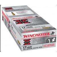 50 CARTOUCHES WINCHESTER 17 HMR SUPER-X 20G JHP