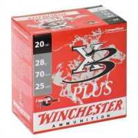 25 CARTOUCHES WINCHESTER X3PLUS 12/70 32G PB7.5