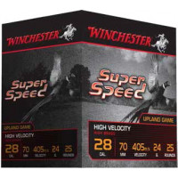 25 CARTOUCHES WINCHESTER 28/70 SUPER SPEED G2 16MM 24G PB6