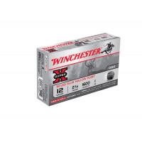 5 CARTOUCHES BALLE WIN5 CARTOUCHESTER 12/70 SLUG SUPER X RIFLED HP 28G