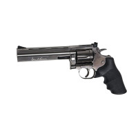 REVOLVER GNB CO2 ASG 4.5MM DAN WESSON DW715 6P STEEL GREY-PLOMB