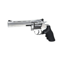 REVOLVER ASG CO2 4.5 DAN WESSON DW715 6 SILVER PLOMBS