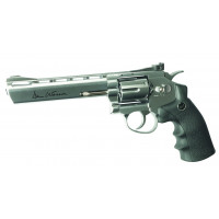 REVOLVER ASG DAN WESSON 6 POUCES CHROME MAT C.4.5 CO2