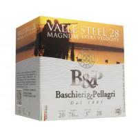 CARTOUCHES B&P VALLE STEEL MAGNUM 28 CALIBRE 20 - 28G - PB 3