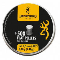 PLOMB BROWNING PLAT CAL 4.5 MM 0.48G 5X500