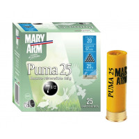 CARTOUCHES MARY ARM PUMA 25 CALIBRE 20 - 25G - BR - PB7.5