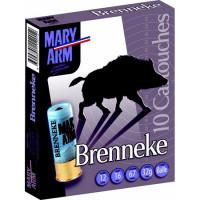CARTOUCHES MARY ARM BRENNEKE CALIBRE 12