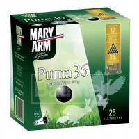 CARTOUCHES MARY ARM PUMA 36 CALIBRE 12 - 36G - BJ - PB6