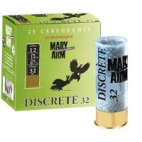 CARTOUCHES MARY ARM DISCRETE 32 CALIBRE 12 - 32G - BG - PB6