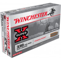 BALLES WINCHESTER SUPER X POWER POINT CALIBRE 338 WM 200 GR