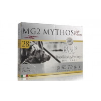 CARTOUCHES B&P MG2 MYTHOS 28 HV CALIBRE 20 - 28G - PB 5