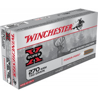 BALLES WINCHESTER SUPER X POWER POINT CALIBRE 270 WSM 150 GR