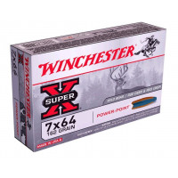 BALLES WINCHESTER SUPER X POWER POINT CALIBRE 7X64 162 GR