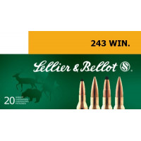 BALLES SELLIER BELLOT CALIBRE 243 WIN 100 GR SP